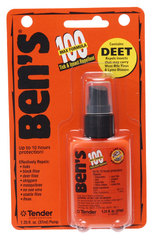 Ben's 100 1.25 oz Pump Bottle Tick and Insect Repellent