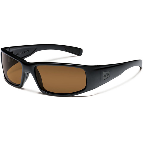 Smith Optics Elite-Hideout Tactical-Black-Polarized Brown