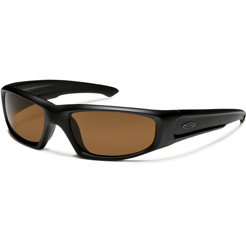 Smith Optics Elite Hudson Sunglasses Black-Polarized Brown