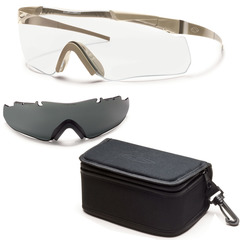 Smith Optics Elite Aegis Echo Protective Glasses Field Kit-Tan 499