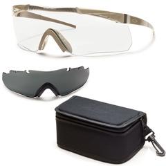 Smith Optics Elite Aegis Echo Protective Glasses Field Kit-Tan 499