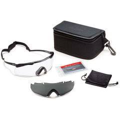 Smith Optics Elite Aegis Echo Protective Glasses Field Kit-Black