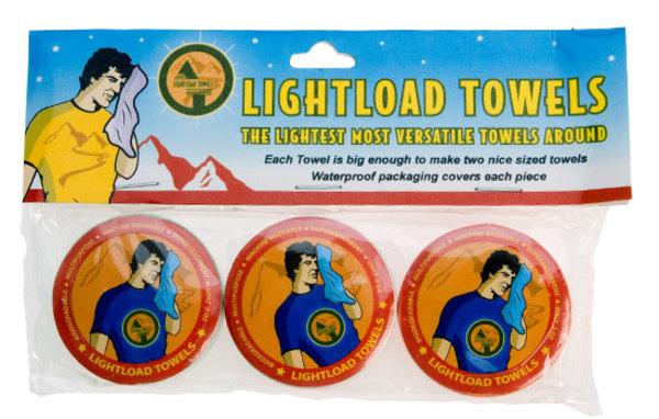 Lightload Towels 3 Pack