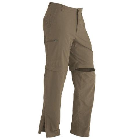 Marmot Cruz Convertible Pants Khaki Brown