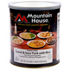 Mountain House #10 Cans-Sweet and Sour Pork w/Rice