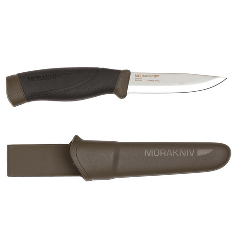 Morakniv Companion Heavy Duty Knife=Forrest Green