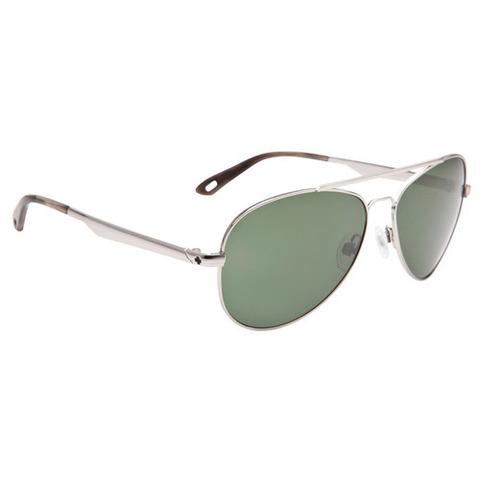 Spy Optic Parker Sunglasses-Sliver/Green Lens