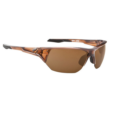SPY Optic Alpha Translucent Brown - Bronze Sunglasses