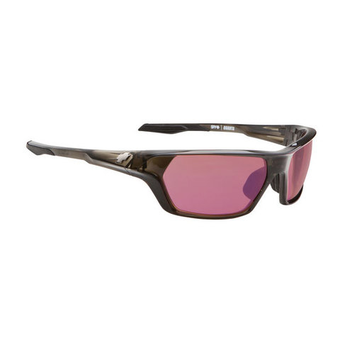 SPY Optic QUANTA TRANSLUCENT BLACK - ROSE--BLUE MIRROR