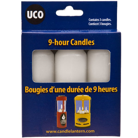 UCO Candle Lantern 9-hour Candles 3-pack