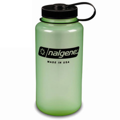 Nalgene Glow in the Dark Tritan 32 Oz. Wide Mouth Bottle