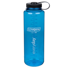 Nalgene Tritan Silo 48 Oz. Wide Mouth Bottle - Blue