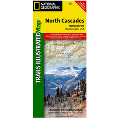 National Geographic North Cascades National Park Trails Illustrated Map