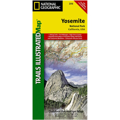 National Geographic Yosemite National Park Trails Illustrated Map