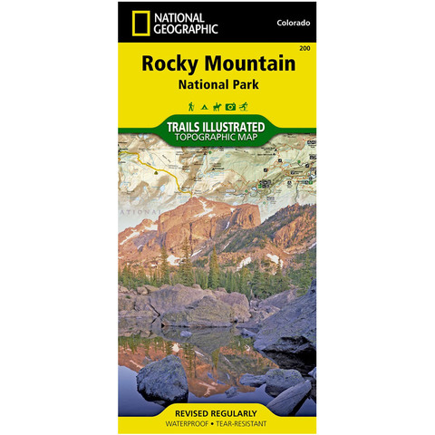 National Geographic Rocky Mountain National Park Trails Illustrated Map