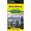 National Geographic Mount Whitney Trails Illustrated Map