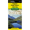 National Geographic Sequoia Kings Canyon National Parks Trails Illustrated Map