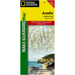 National Geographic Acadia National Park Trails Illustrated Map