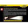 NITECORE Sens AA2 170 Lumen Flashlight
