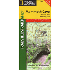 National Geographic Map Mammoth Cave National Park