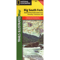 National Geographic Big South Fork Trails Illustrated Map