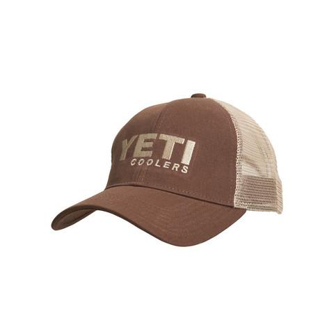 Yeti Trucker Hat-Brown