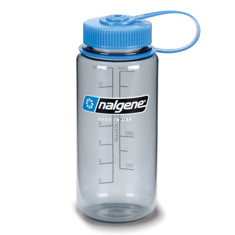 Nalgene Everyday Tritan 16 oz. Wide Mouth Bottle=Gray