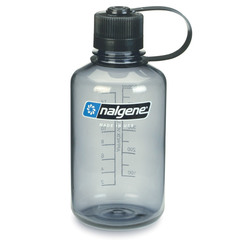 Nalgene Narrow Mouth Bottle 16 oz.=Gray