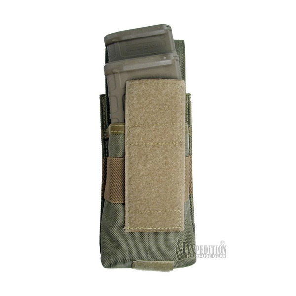 Maxpedition 1437 Stacked M4-M16 Mag Pouch Back