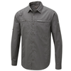 Craghoppers Men's Kiwi Trek Long Sleeved Shirt Ashen