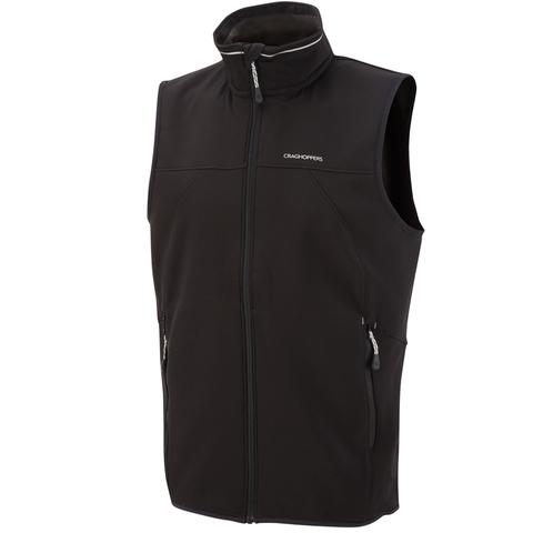 Craghoppers Men's Luka Vest - Black