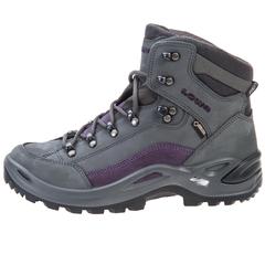 Lowa Women's Renegade GTX Mid Hiking Boot-BlueGray-Prune