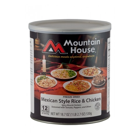 Mountain House #10 Can- Mexican Style Rice and Chicken