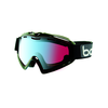 Bolle Y6 OTG Shiny Black Ski Goggle-Modulator Vermillion Blue Lens