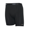 AYG Underwear Men's XTRdry Cotton Boxer Brief-Black
