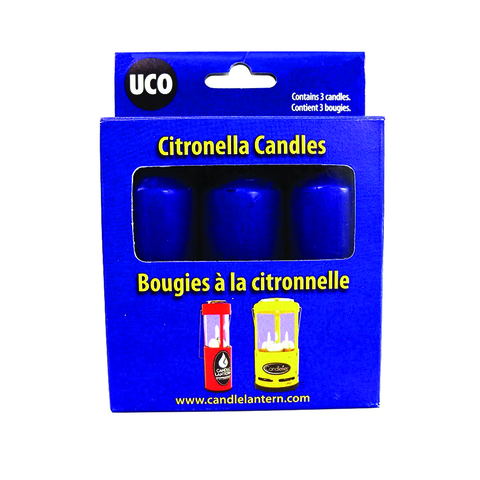 UCO Citronella Candle - 3-pack