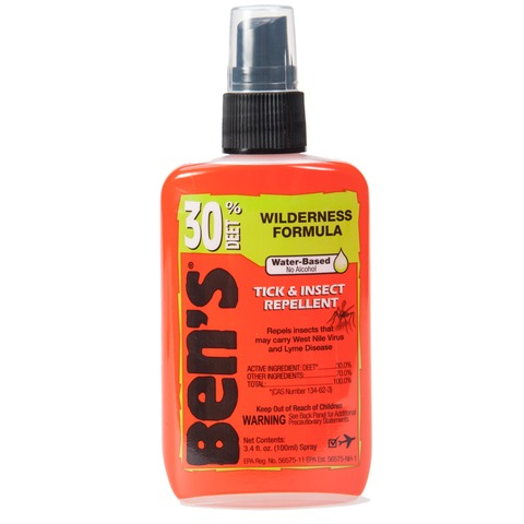 Ben's 30 Pump 3.4 oz Wilderness Formula Tick and Insect Repellent