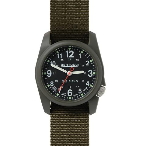Bertucci 11026 DX3 Field Performance Watch - Black/Olive Nylon