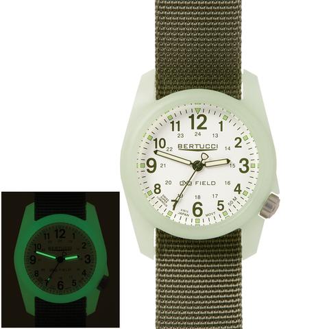 Bertucci 11028 A2R DX3 Field Performance Watch - White/Defender Drab Nylon