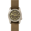 Bertucci 12043 A2T Highpolish Field Performance Watch - Burlap/Dark Khaki Nylon