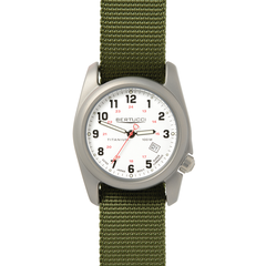 Bertucci 12121 A-2T Field Performance Watch - White/Olive Nylon