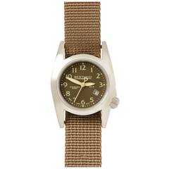 Bertucci 18006 M-1S Women's Field Performance Watch - Burlap/Dark Khaki Nylon