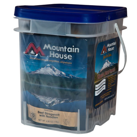 Mountain House Just In Case Classic Assortment Bucket
