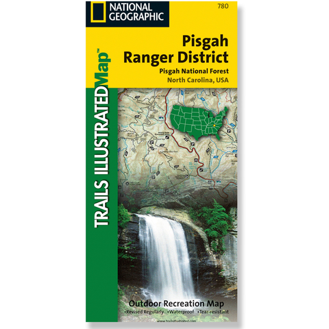 National Geographic Pisgah Ranger District Trails Illustrated Map