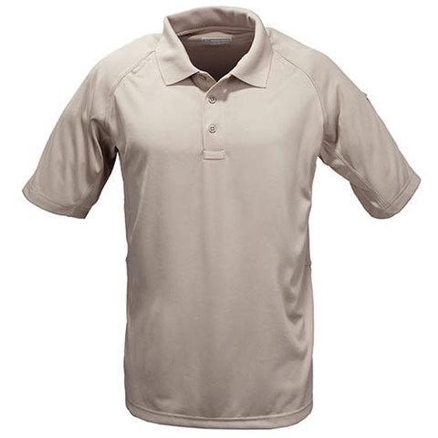 5.11  Men's Performance SS Polo Shirt-Silver Tan