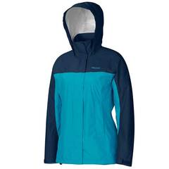 Marmot Women's PreCip Jacket - Sea Breeze/Arctic Navy