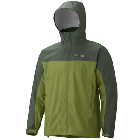 Marmot Men's PreCip Jacket - Forest/Fatigue