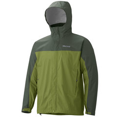 Marmot Men's PreCip Jacket - Forest/Fatigue