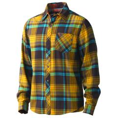 Marmot Men's Anderson Flannel Long-Sleeve Shirt - Rich Brown