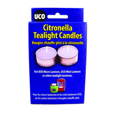 UCO Citronella Tealight Candles - 6-pack